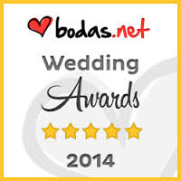Premio Awards Weddind 2014 a Restaurant Can Mauri, referente de Bodas.