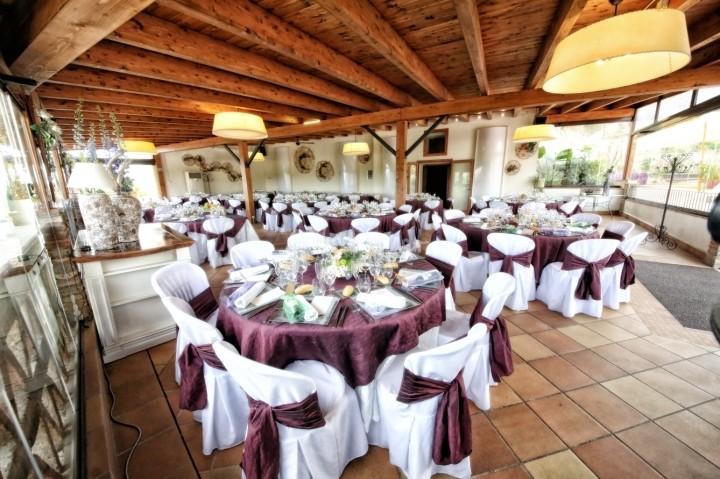 Espacios del restaurante para bodas Can Mauri