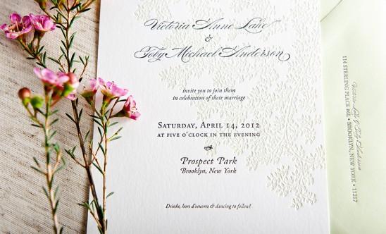 Tendencias para invitaciones de boda